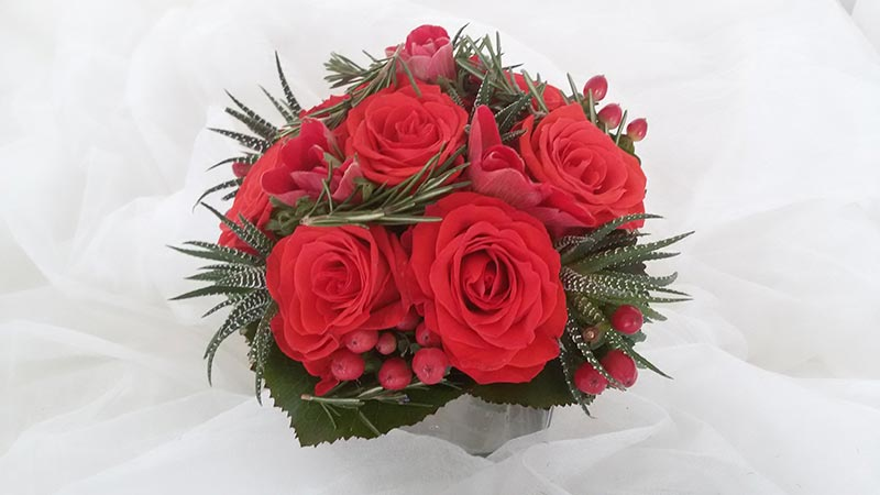 Hochzeitsschmuck Blumen Rössl